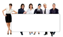 Copy space with people Stock Image
