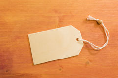 Copy space on wooden background. Wooden copy space with white string on painted wooden background Stock Photography