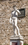 A copy of the statue of David by Michelangelo Stock Images