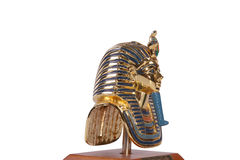 Copy of Tutankhamun's mask. These copies are for sale. Royalty Free Stock Images