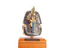 Copy of Tutankhamun's mask. These copies are for sale. Stock Images
