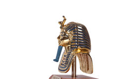 Copy of Tutankhamun's mask. These copies are for sale. Royalty Free Stock Photo
