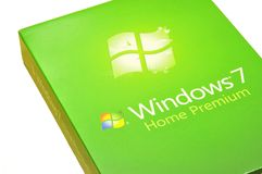 MICROSOFT WINDOWS 7 Royalty Free Stock Photos