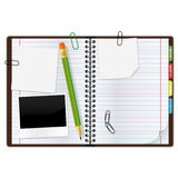 Copybook Royalty Free Stock Image