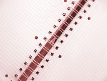copybook Obraz Stock