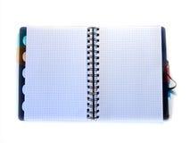 copybook carnet de bureau Carnet d'école organisateur photo stock