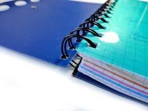 copybook carnet de bureau Carnet d'école organisateur photographie stock