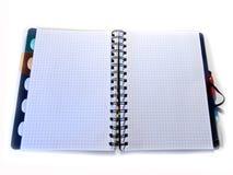copybook carnet de bureau Carnet d'école organisateur images libres de droits