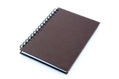 Copybook or notebook isolated on white background Royalty Free Stock Photo