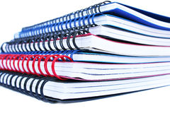 Copybook stack Stock Images