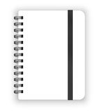 Copybook template Stock Photography