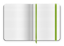 Copybook template Royalty Free Stock Photo