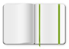 Copybook template Royalty Free Stock Images