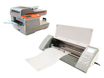 Copying machine. Image of a copying machine stock photos