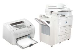 Copying machines Royalty Free Stock Images