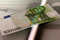 Copying the money Stock Photo