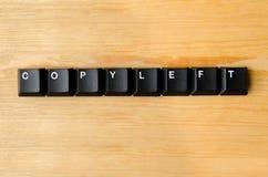 Copyleftwoord Stock Foto's