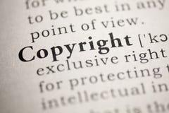 Copyright obrazy stock