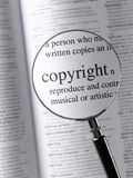 copyright Imagem de Stock Royalty Free