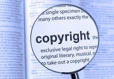 copyright imagens de stock