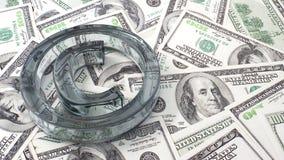 Copyright auf Dollars Stockfotos