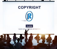 Copyright Brand Business Design Identity Patent Concept Stock Images