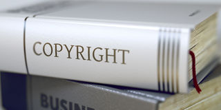 Copyright - Business Book Title. Royalty Free Stock Images