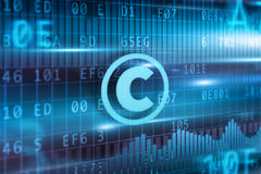 Copyright concept Stock Photography