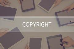 COPYRIGHT CONCEPT Business Concept. stock photos