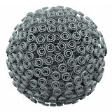 Copyright 3d Symbol Sphere Ball Intellectual Legal Protection Royalty Free Stock Photos