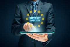 Copyright direktiv Arkivfoton