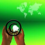 Copyright du monde Images stock