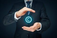 Copyright e proprietà intellettuale fotografia stock