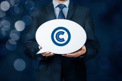 Copyright et propriété intellectuelle Image libre de droits