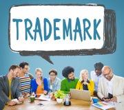 Copyright för identitet för varumärkesproduktmarknadsföring begrepp arkivfoton