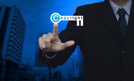 Copyright i patentu pojęcie obraz stock