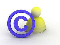 Copyright icon Royalty Free Stock Photos