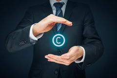 Copyright and intellectual property Stock Photography