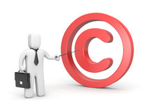 Copyright lesson Royalty Free Stock Photography