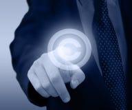 Copyright och patentbegrepp Arkivfoto