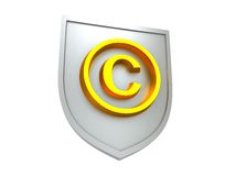 Copyright protect stock illustration