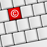 Copyright protection Stock Image