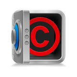 Copyright protection Royalty Free Stock Image
