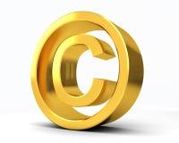 Copyright registró C Imágenes de archivo libres de regalías