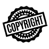 Copyright rubber stamp Stock Photography