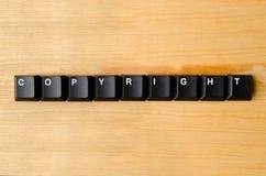 Copyright słowo zdjęcia royalty free
