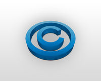 Copyright sign Royalty Free Stock Image