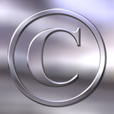 Copyright sign Stock Photography
