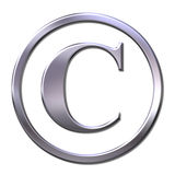 Copyright sign Royalty Free Stock Photo