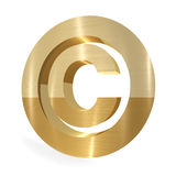 Copyright sign royalty free stock images